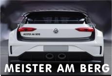 Meister am Berg / Aufkleber Fun dub Tuning Neu