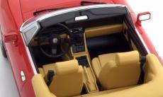 Alfa Romeo Spider mit abnehmbarem Softtop 1:18 in Rot