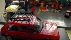 Dachgepäckträger für Modellbau / Dioramabau im Maßstab 1:18