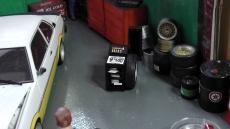 Reifenwucht Maschine  beweglich Maßstab 1:18