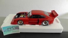Ford Capri Turbo Gr.5 1979 rot, fertiges Modellauto von Minichamps aus Metall im Maßstab 1:18. Weltweit limitiert auf 504 Stück.