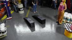 Auffahr Rampen 1 Set - schwarz A 2 Stück -- Diaorama Maßstab 1:18 NEU