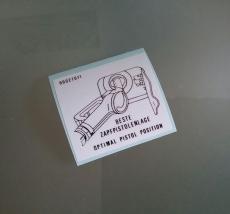 Opel Tankdeckel Aufkleber beste Zapfpistolenlage