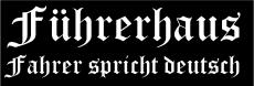 Führerhaus Fahrer spricht Deutsch