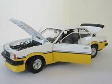 Opel Ascona B i2000 Irmscher in 1:18 Sunstar - Art.5343 gelb weiss