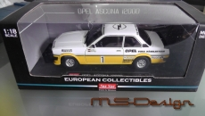 Opel Ascona B  Jochi Kleint / Günter Wanger NR 1  Sonderumbau 1:18 neu Rarität