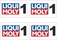 LIQUI MOLY  1     Startzahl 1:18 Modellbau Set a 4 Stück