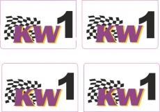KW Gewindefahrwerke   1     Startzahl 1:18 Modellbau Set a 4 Stück