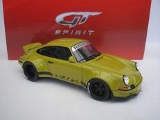Porsche 911 (930) RWB Baujahr 1973 khaki grün 1:18 GT-SPIRIT