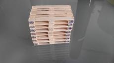 Europalette aus Holz im Maßstab 1:18