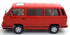 VW T3 Multivan Limited Last Edition Rot in 1:18