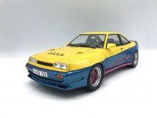 Opel Manta B Mattig 1991 gelb/blau 1:18 MCG