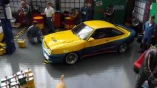 Opel Manta B Mattig Film Manta Manta (1991) gelb / blau metallic / rosa 1:18 Model Car Group mitt BBS Echtaluminium Felgen