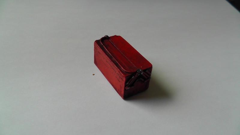 Werkzeugkasten Kiste Werkstatt Diorama Tool Werkzeug  Case LKW Zubehör 1/18