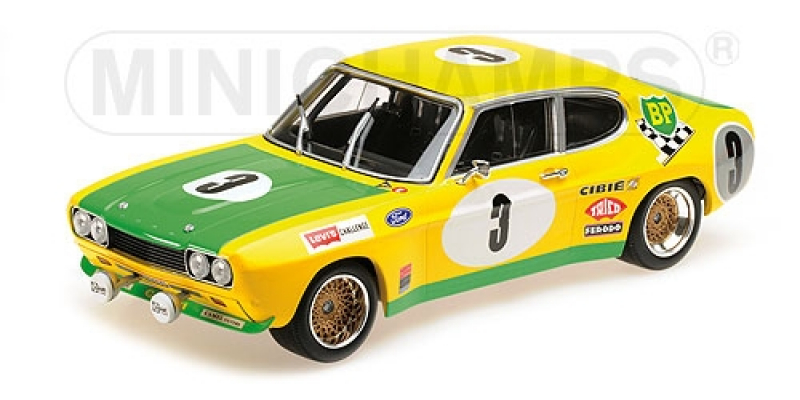 FORD RS 2600 – FORD BP RACING TEAM – BIRREL/BOURGOIGNIE – 2ND PLACE 24H SPA 1972