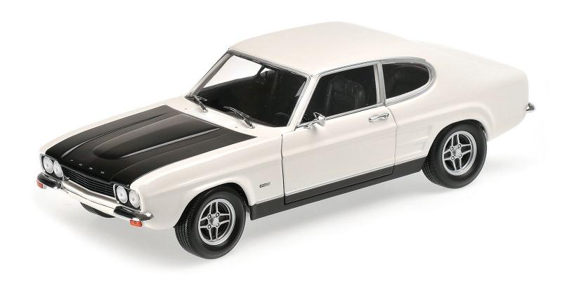 FORD CAPRI RS 2600 – 1970 – WHITE/BLACK (LHD) L.E. 576 pcs. - 1:18