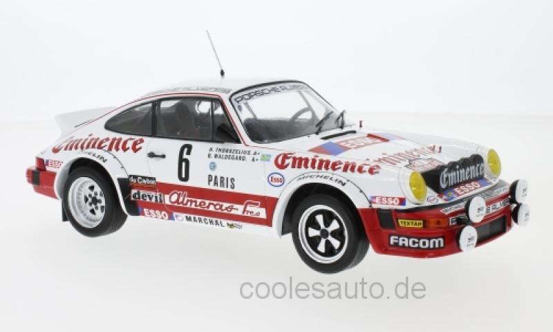 Porsche 911 SC, No.6, Almeras, Eminence, Rallye WM, Rally Monte Carlo , B.Waldegard/H.Thorszelius, 1982