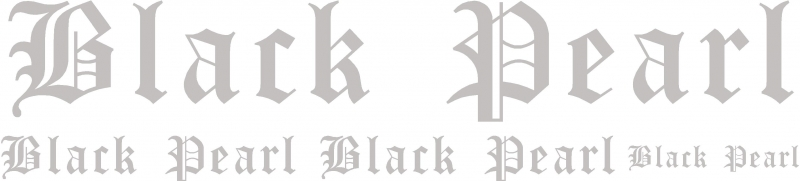 Black Pearl Aufkleber Set