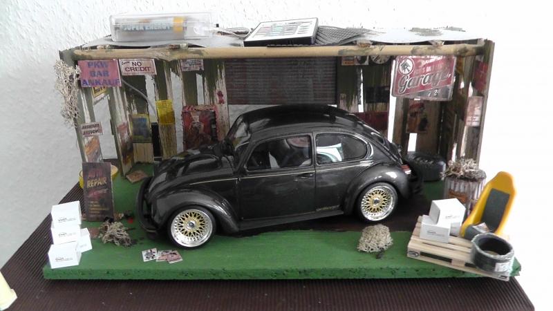 Volkswagen Beetle Oettinger mit 16 Zoll BBS Felgen