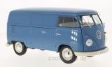 VW T1, blau, Kastenwagen, 1963   - 1:18