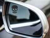 Totenkopf Spiegel Aufkleber z B  für Auto oder LKW