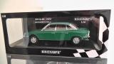 NSU Autounion Audi RO 80 Ro 80 Wankel Limousine 19720 Grün Green Minichamps 1:18