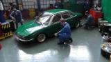 NSU Autounion Audi RO 80 mit BBS Echtalu Felgen Grün Green Minichamps 1:18