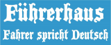 Führerhaus , Fahrer spricht Deutsch / ( K ) für LKW Auto JDM / GAG / Fun