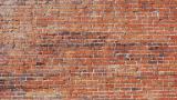 Backsteinmauer Oldschool für  Hintergrund Diorama  selbstklebend