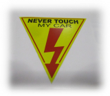 Never touch my Car Sticker,  Aufkleber ! Sticker,  Aufkleber