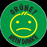 Grüne nein DANKE ! , anti Aufkleber JDM, Aufkleber Must have TOP