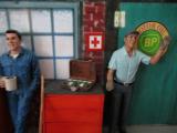 RED Cross  Koffer  für Modellbau / Dioramabau im Maßstab 1:18