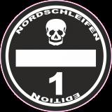 Nordschleifen Edition Sticker Diesel Car Tuning Aufkleber CO2 Spaß FUN Racing