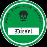 Fuck you co2 Gretel Feinstaubplakette grün Umweltplakette Aufkleber Sticker