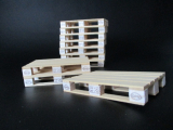 Europalette Typ 2 aus Holz im Maßstab 1:18