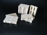 Europalette aus Holz ohne Logo im Maßstab 1:18