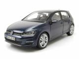 VW Golf VII - blue Dealermodel 1:18
