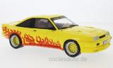 Opel Manta B Mattig, gelb/Dekor, Flammen  1991 - 1:18