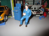 American Diorama 77450 Mechaniker - Johnny trinkt Kaffee 1/1000 1:18