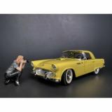 American Diorama 38211 Weekend Car Show Figure 3 Fotografin 1:18 Figur 1/1000