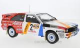 Audi quattro, No.2, Schmidt Motorsport, Rallye DM, Hunsrück Rallye, H.Demuth/W.Lux, 1984