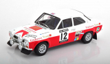 Ford Escort RS 1600 Mk1 #12 4th RAC Rallye 1971 Mikkola, Palm 1:18