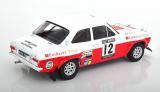 Ford Escort RS 1600 Mk1 #12 4th RAC Rallye 1971 Mikkola, Palm 1:18