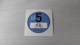 Feiner Staub Plakette Blaue Plakette 5 Fahrrad