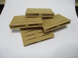 Europalette aus 3 D Druck aus Holz im Maßstab 1:18