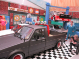 Solido 421185840 - 1:18 VW Caddy CUSTOM II Pickup Umbau