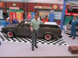 Figur Tankwart Eric für 1:18 Modelle American Diorama