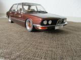 BMW 518 E12 braunmetallic BBS RS Alufelgen 15 Zoll Umbau 1/18 1:18 Neu in OVP