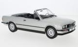 BMW 320i (E30) Cabriolet, silber, 1985