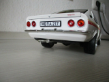 Opel Manta A Swinger 1975 weiß, mit Uli Nowak Echtaluminium Felgen ( Inlett resin ) Maßstab 1:18.